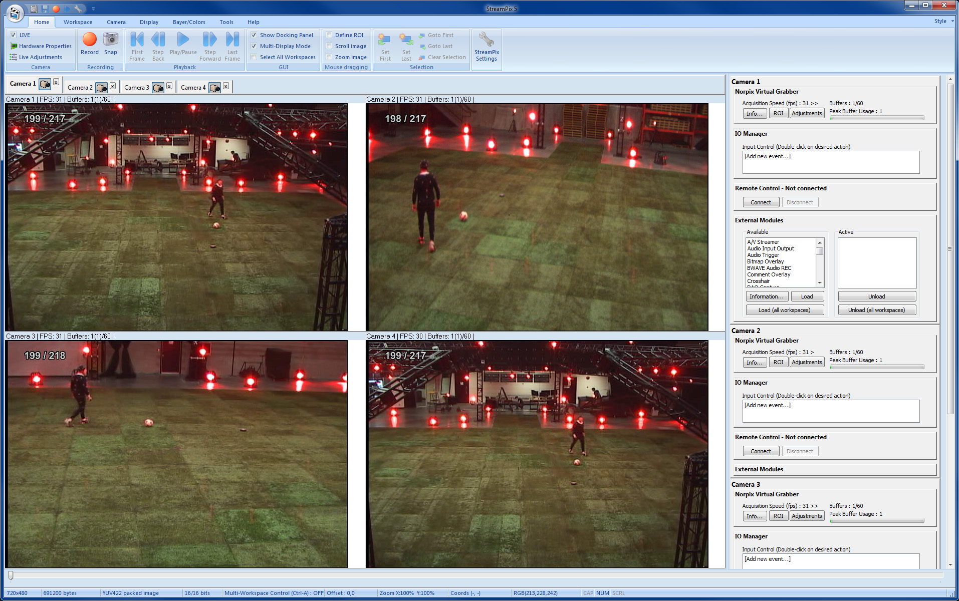 Special effects industry video applications: Motion capture - mocap